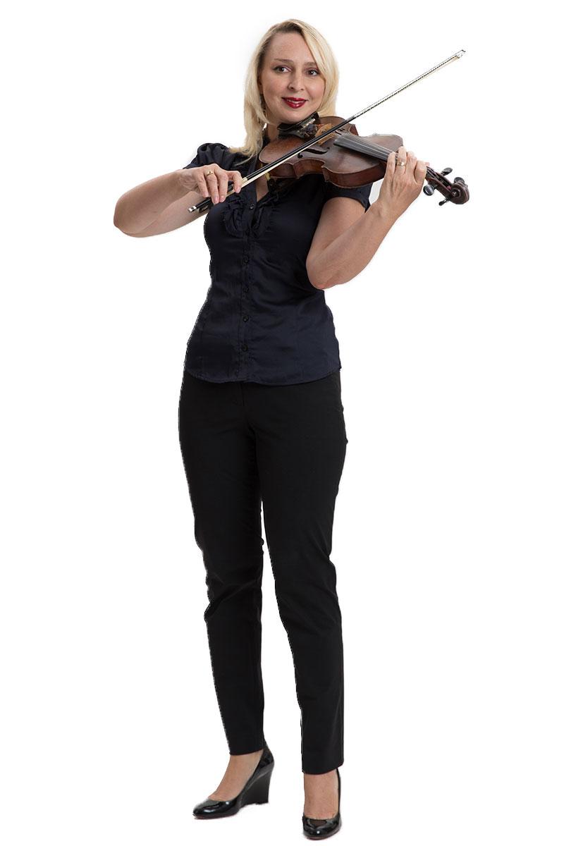 אלונה נוביקוב - כינור