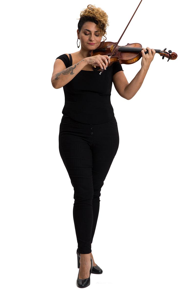 לאה גדייב - כינור